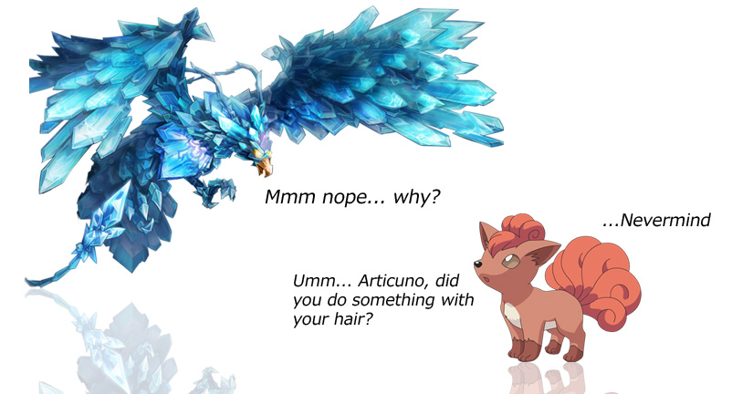 Wazzy88 Comics: Vulpix is confused by wazzy88