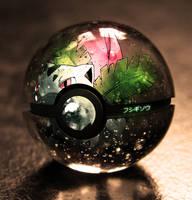 The Pokeball of Ivysaur by wazzy88