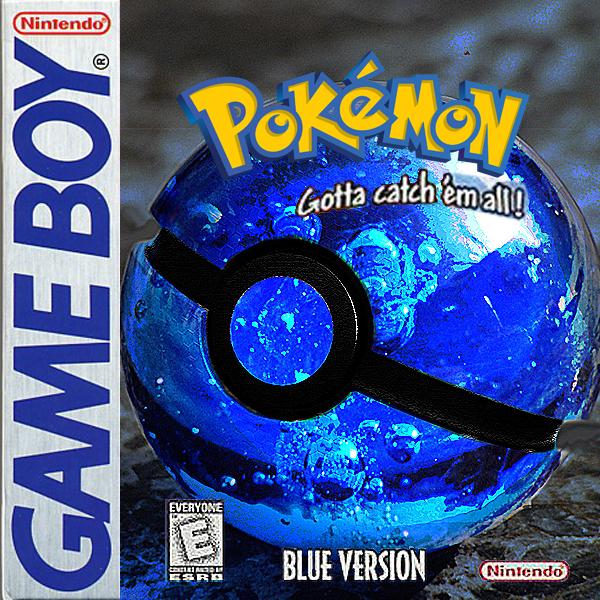 Pokemon Blue by wazzy88