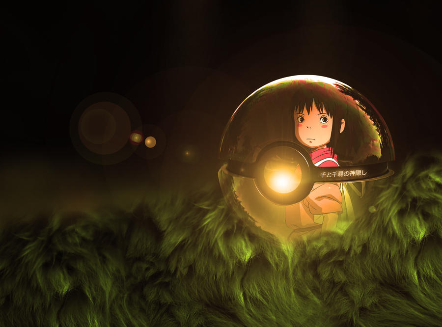 The Spirited Away Pokeball by wazzy88