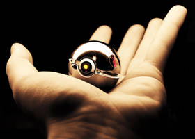 The GLaDOS Pokeball by wazzy88