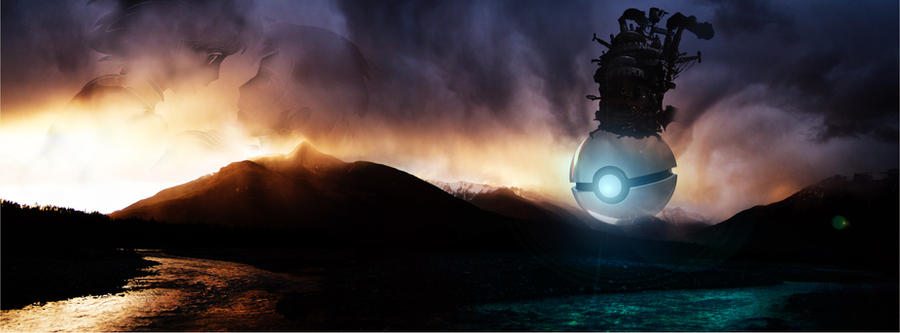 The Pokeball of Howl's Moving Castle by wazzy88