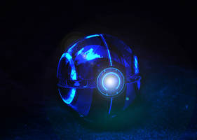 The TRON Pokeball by wazzy88