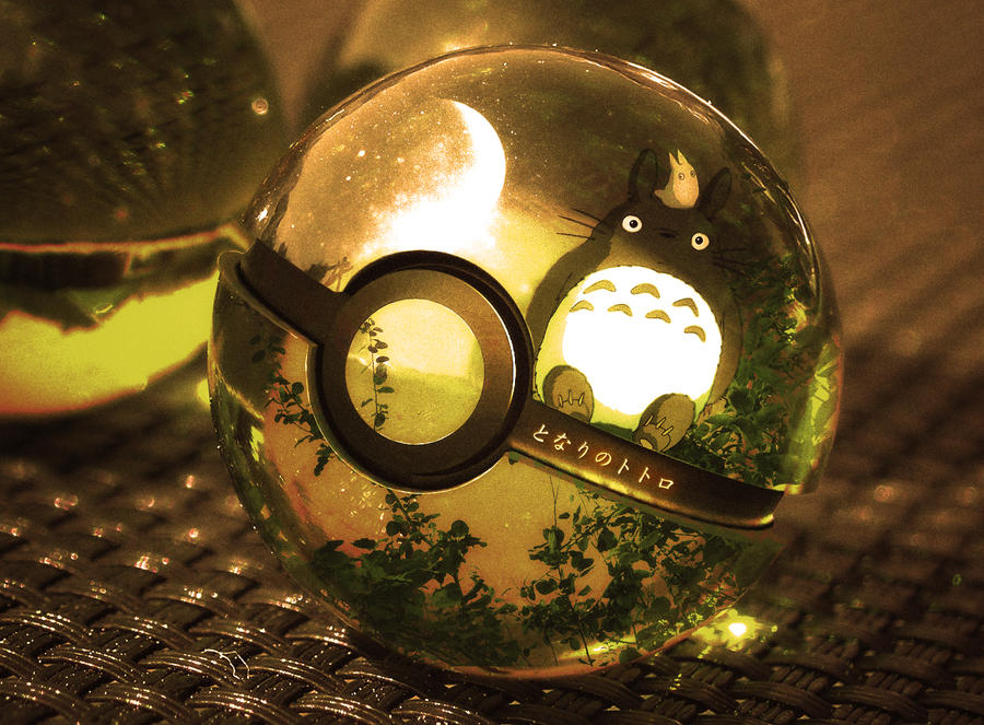 The Pokeball of Totoro by wazzy88