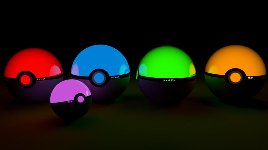 The Big Bang Theory Pokeballs by wazzy88
