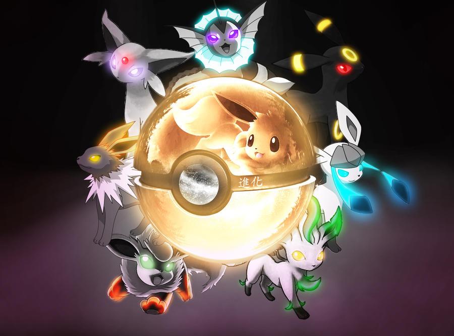 The Eeveelution Pokeball