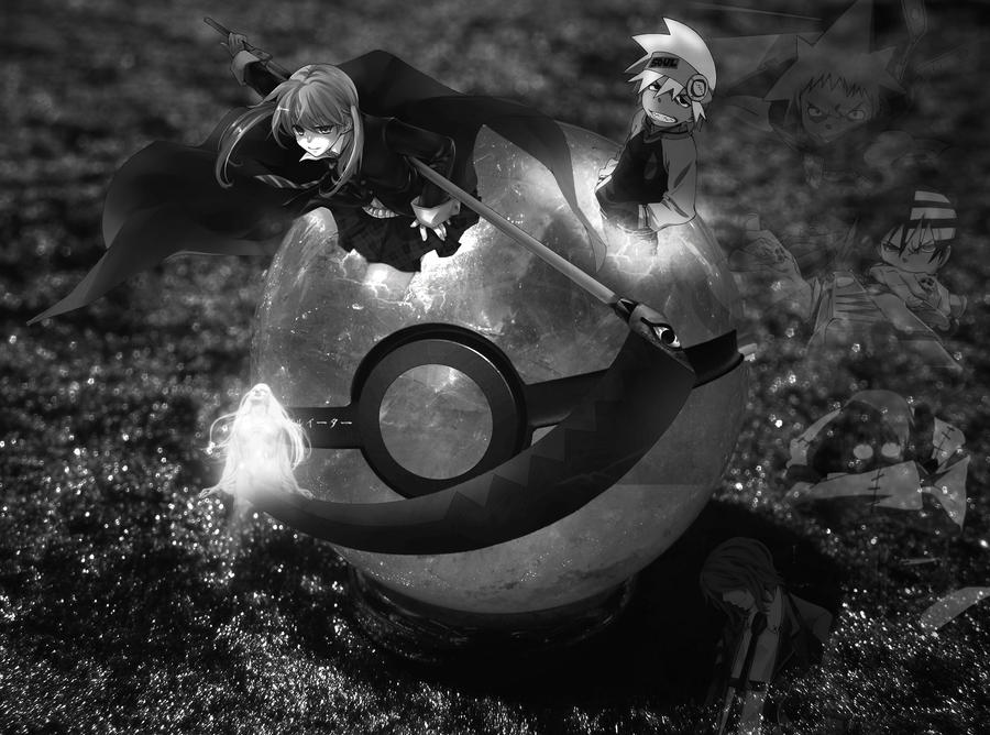 The Soul Eater Pokeball by wazzy88