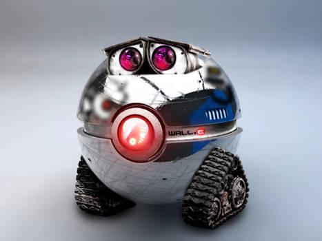 The WALL-E Pokeball