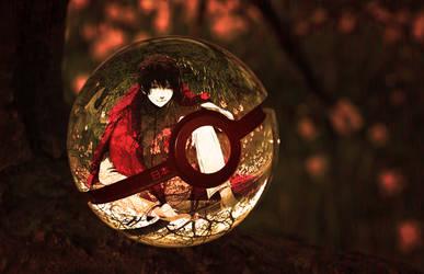 The Pokeball of Japan (Hetalia) by wazzy88