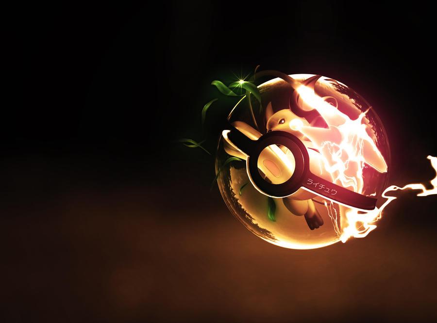 The Pokeball of Raichu by wazzy88