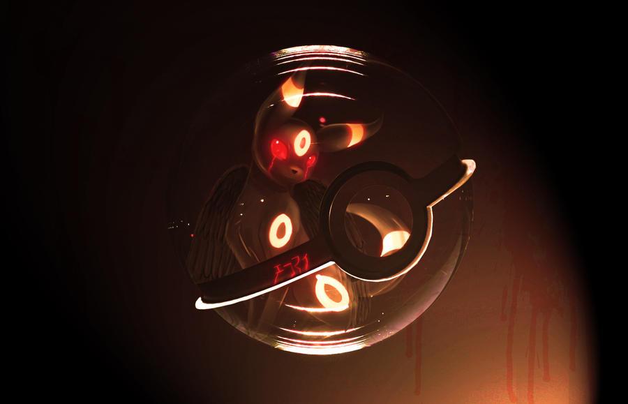 The Pokeball of Demon Umbreon