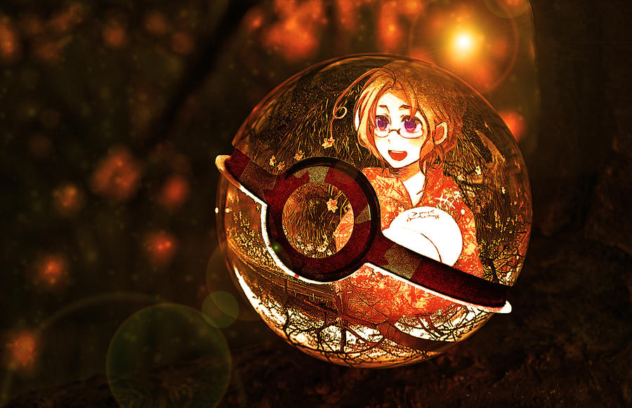 The Pokeball of Canada (Hetalia) by wazzy88