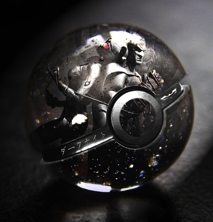 The Dark Knight Rises Pokeball by wazzy88