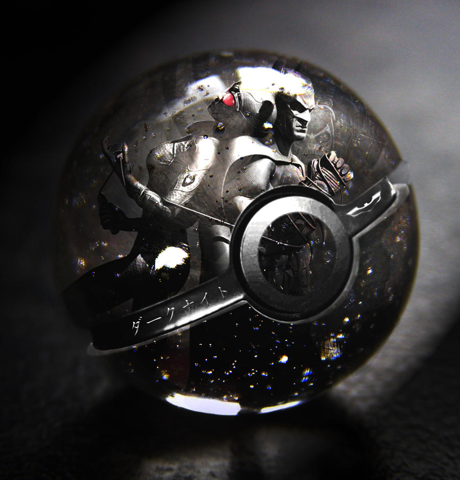 The Dark Knight Rises Pokeball
