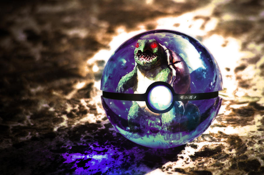 The Pokeball of the Real Squirtle by wazzy88
