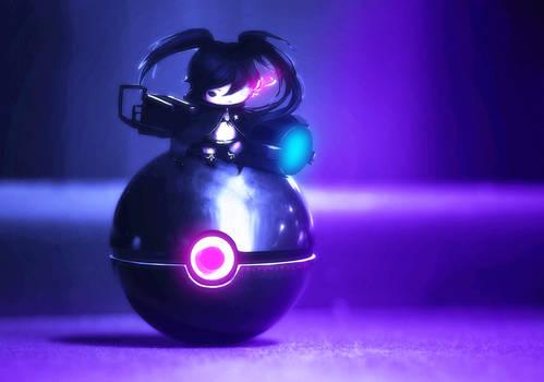 Chibi Black Rock Shooter Pokeball