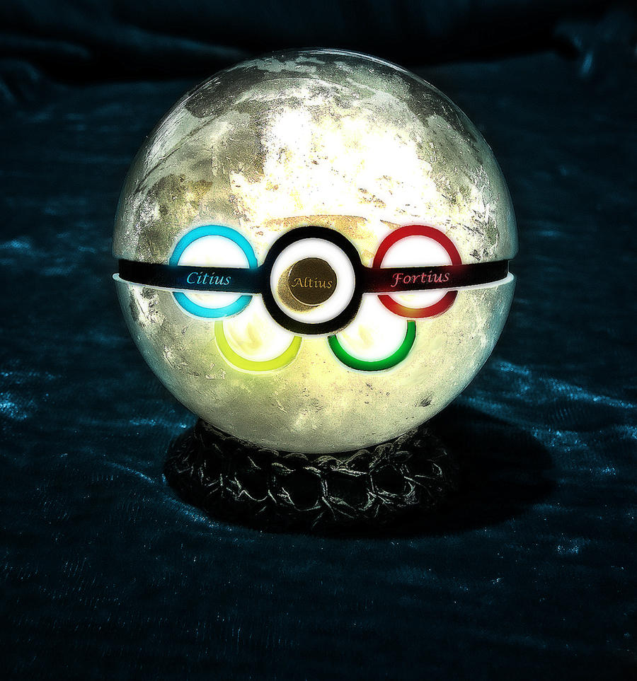 The Olympic Pokeball by wazzy88