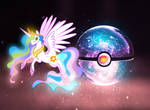 The Pokeball of Princess Celestia