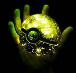 Grass Type Pokeball