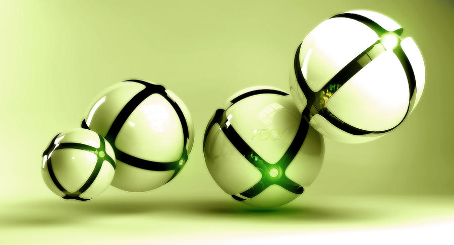 Xbox pokeball (Pokeball 3.0!) by wazzy88