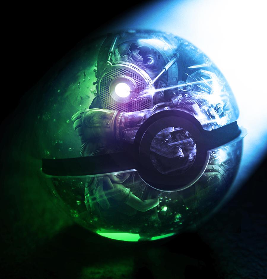 The Pokeball of Bioshock by wazzy88