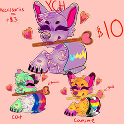 [YCH] Heartpride Flag PRICE LOWERED