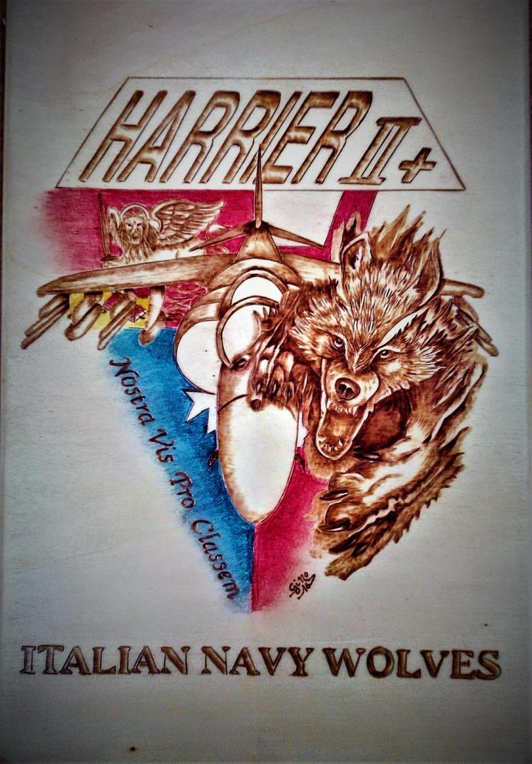 Harrier logo by gigino84b