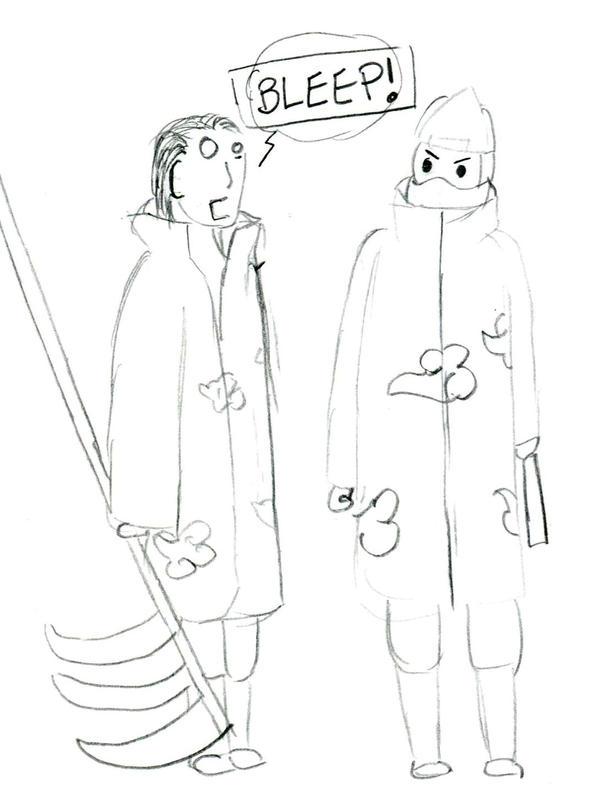 Hidan and Kakuzu by cptnsuz