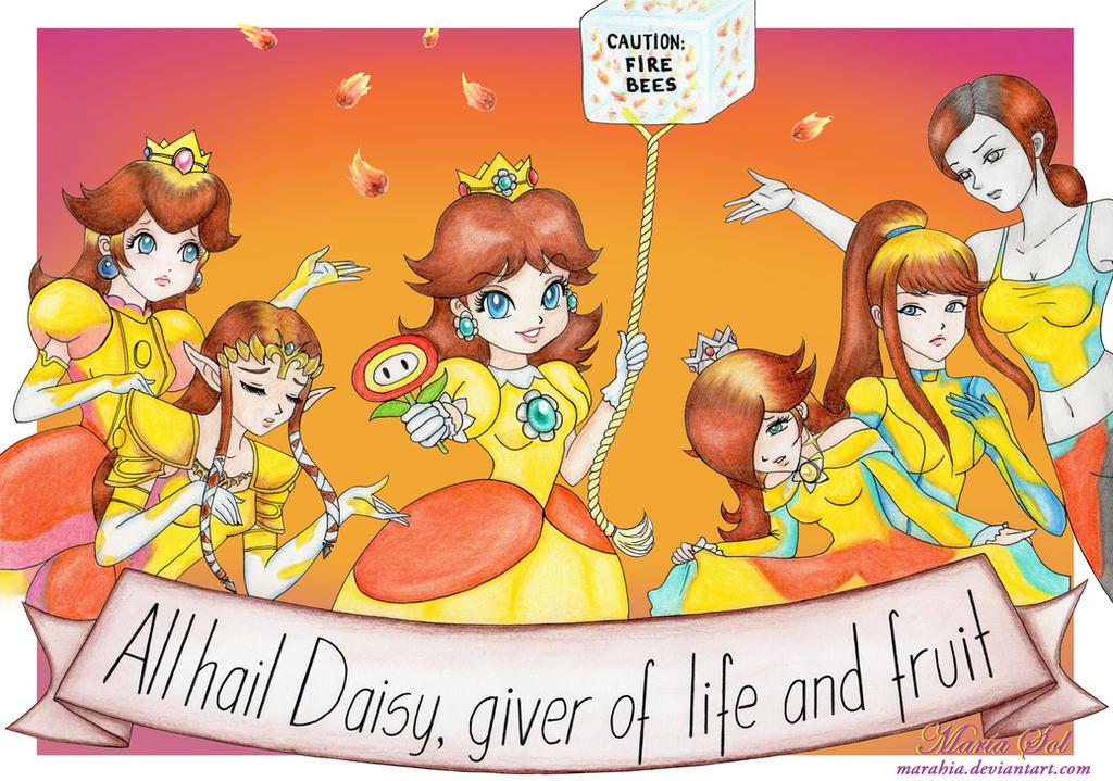 That would Princess peach daisy rosalina and zelda where