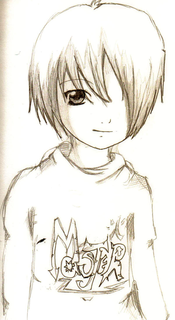 Anime Boy By WoodsofDarkness On DeviantArt