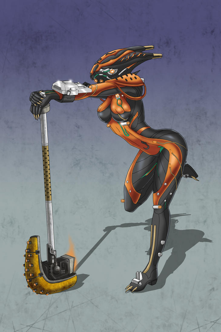 Valkyr: The Hammer by Damatee