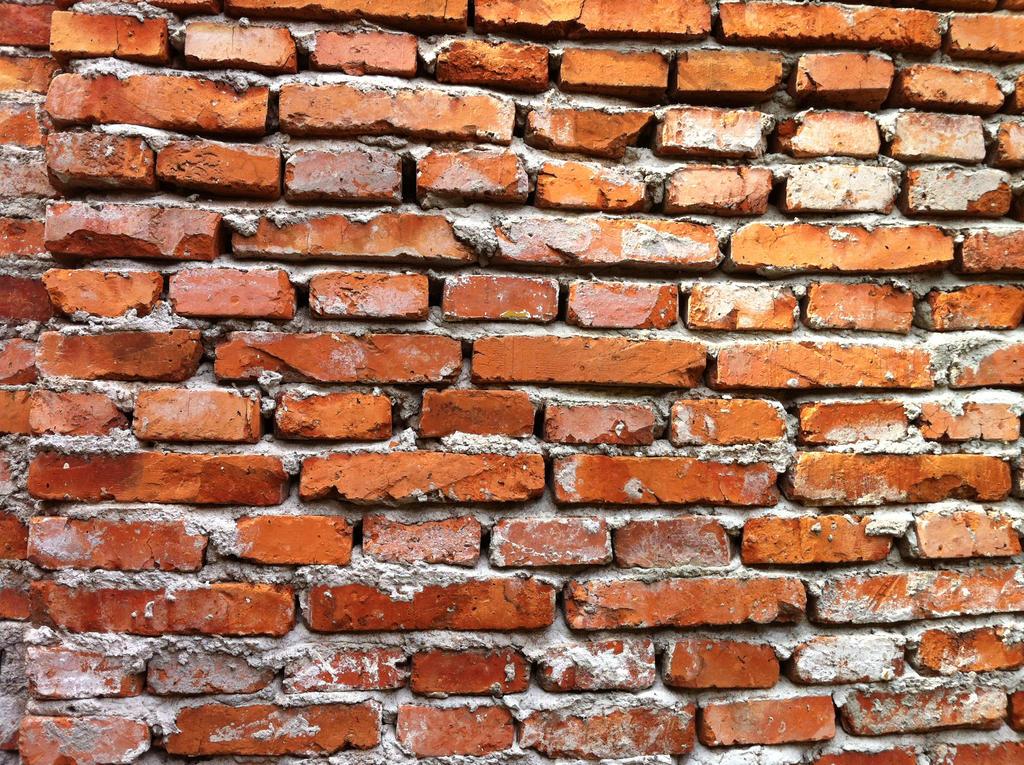 Grey Brick Wall Living Room