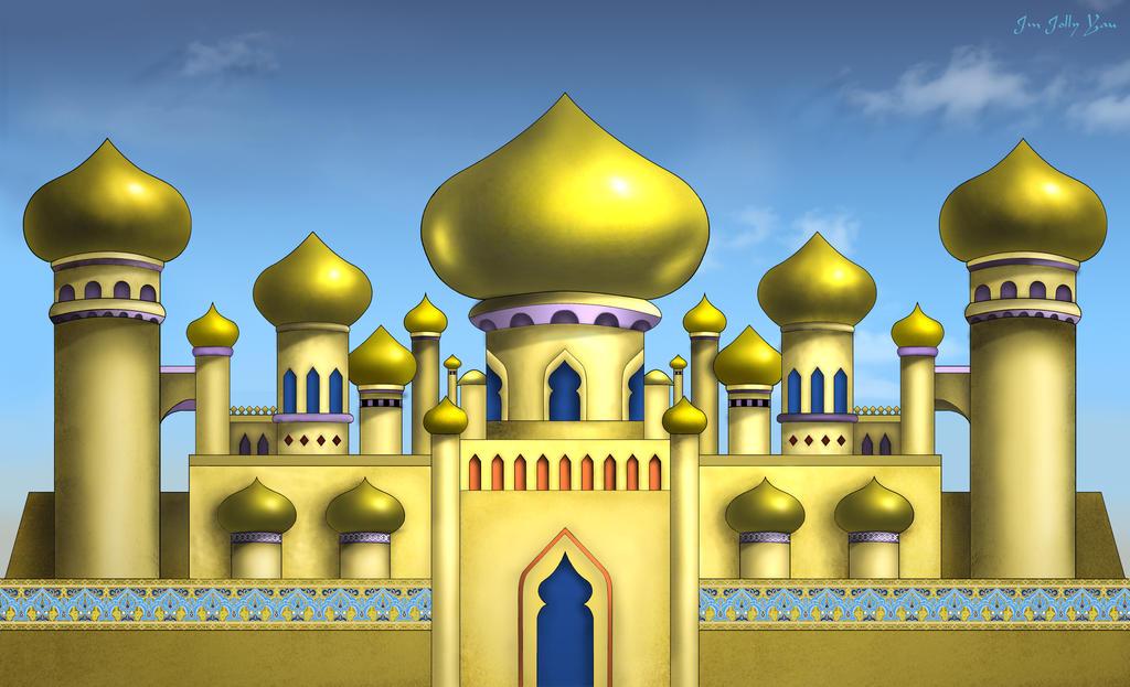Stock Aladdin Arabian Palace Backdrop By Greyfaerie4