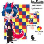 Kaoru Ren (New OC)
