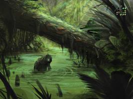 Swamp Creatures by VookaSheen