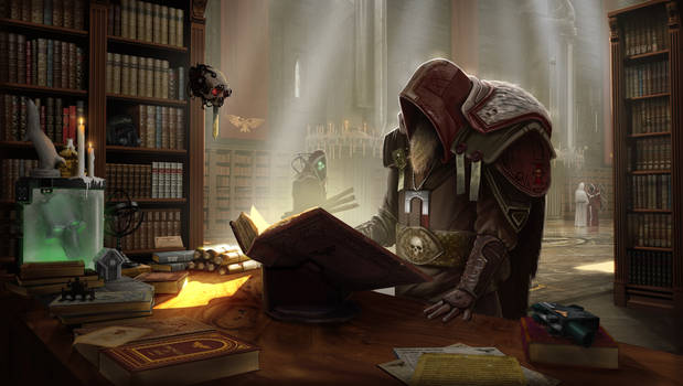 Inquisitor Arch by VookaSheen