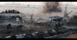 Death Korp behind Vraksian lines