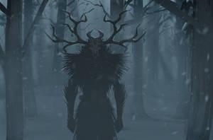 Watcher in the night by VookaSheen