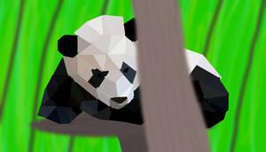 Poly Panda by Krinosa