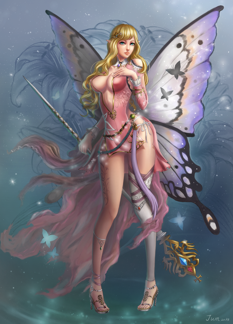 Butterfly Girl Fairy