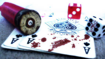 Jimmy was a gambler... by Mike-Whitford