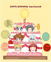 DA CAKE- FOR AME-KUNOICHI by Kurumi-Asuka