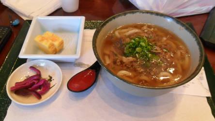 Udon soup by Kurumi-Asuka