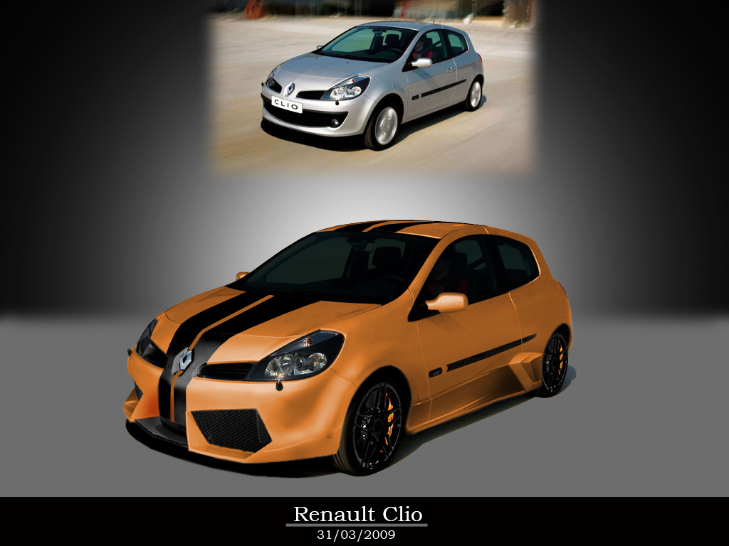 renault clio tuning by misterjbm on deviantart. Black Bedroom Furniture Sets. Home Design Ideas