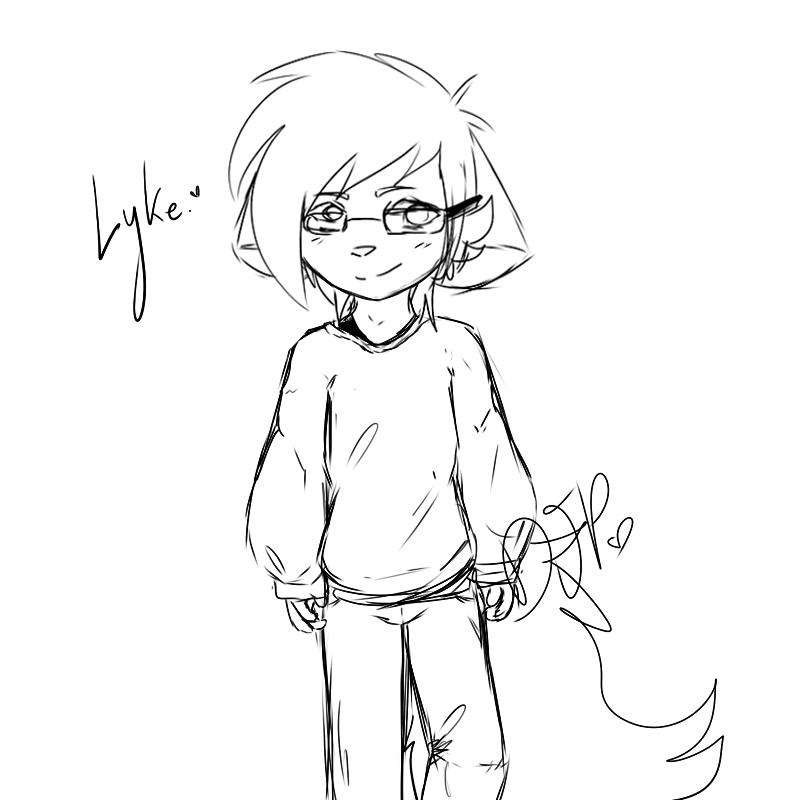 Lyke [OC] by Djpgirl