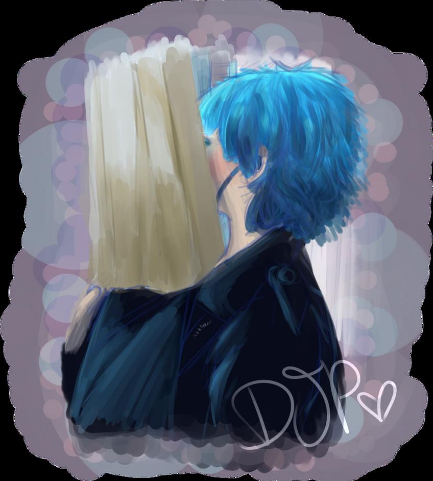Through the window by Djpgirl