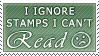 Stamps I Can't Read by ShinyCation