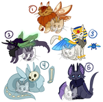 Halloween Mothcats (CLOSED)