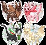 Mothcats: Holiday Sweets Flatsale (CLOSED)