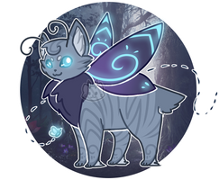Custom Mothcat for SplinteredSilver by floramisa